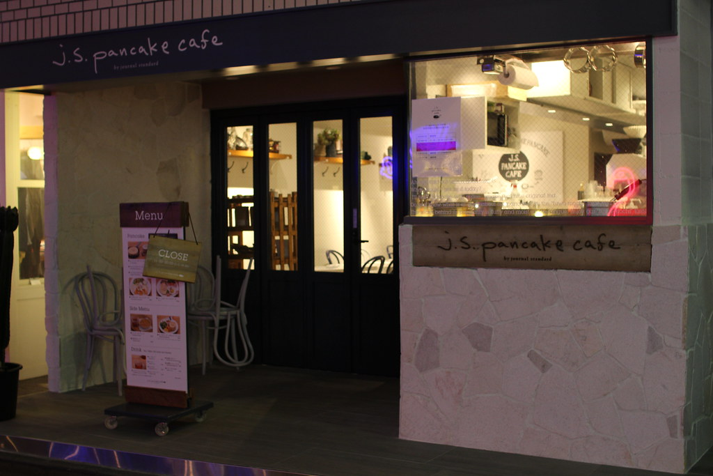 JSパンケーキカフェ店頭2