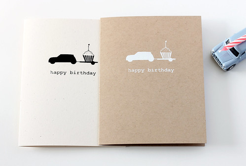 Happy Birthday Mini Cooper Card
