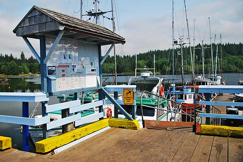 Government Wharf, Coal Harbour, Holberg Inlet, Vancouver Island, British Columbia