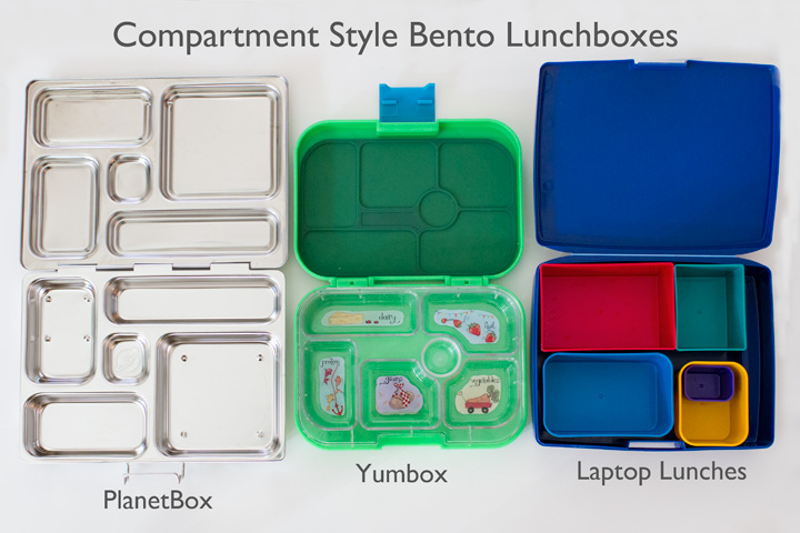 Compartment Style Bento Boxes