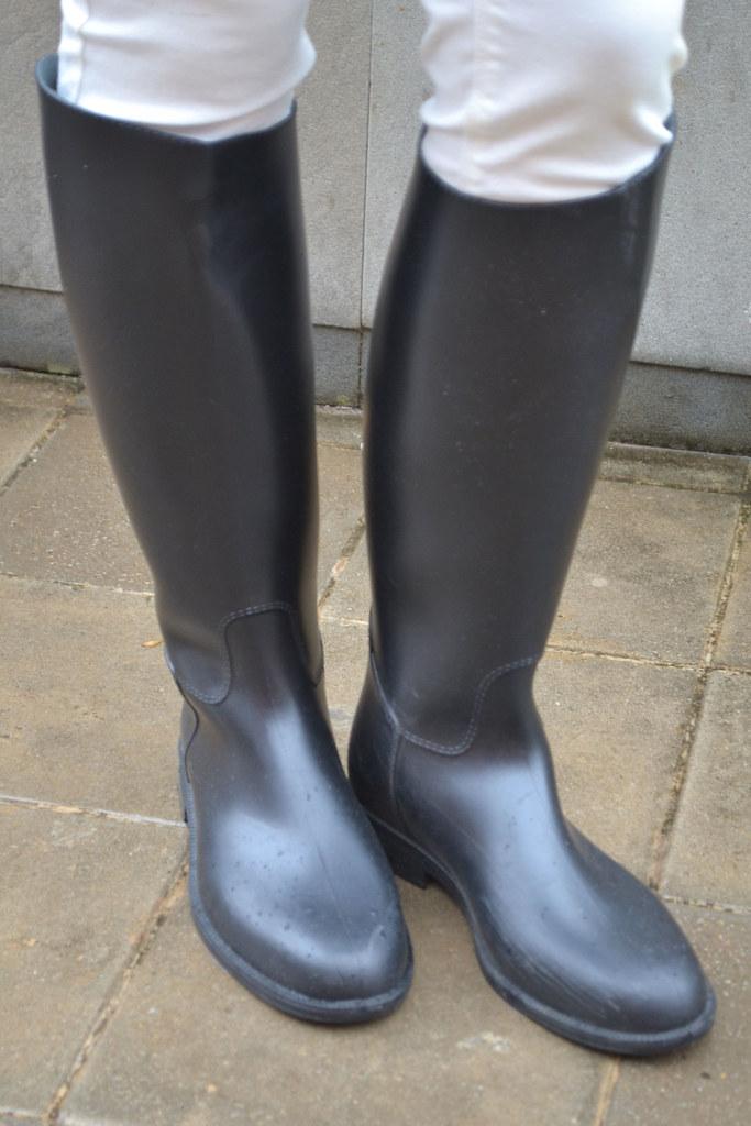 Botas de agua para la lluvia II