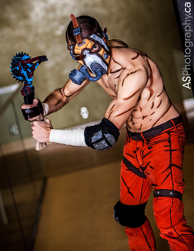 Krieg from Borderlands by Henchmen Props at KW Tri-Con 2014 by andreas_schneider