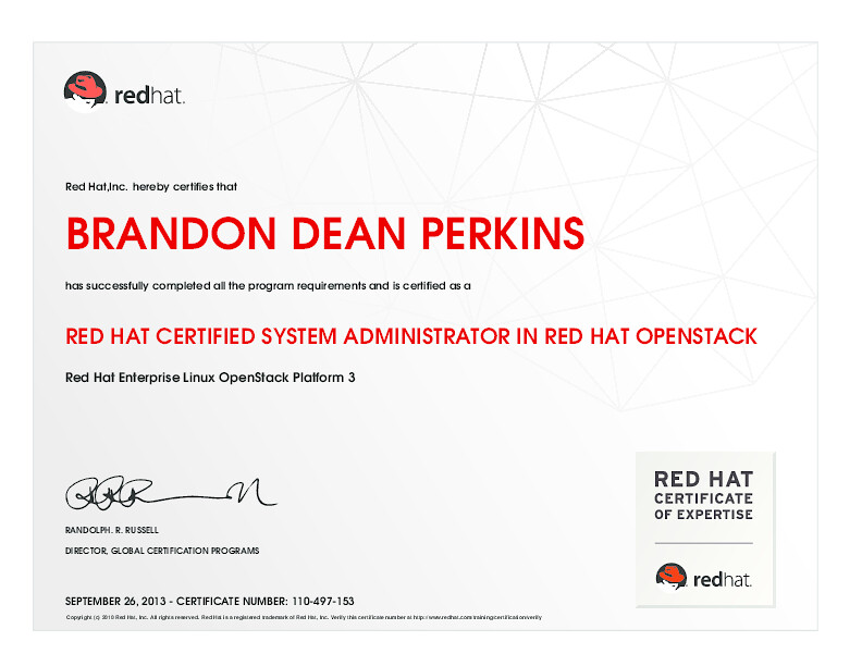 Red Hat Certified System Administrator In Red Hat Openstac Flickr