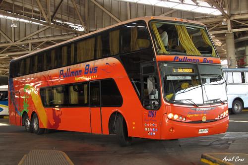Pullman Bus en Terminal San Borja | Busscar Panorâmico DD / ZA8769