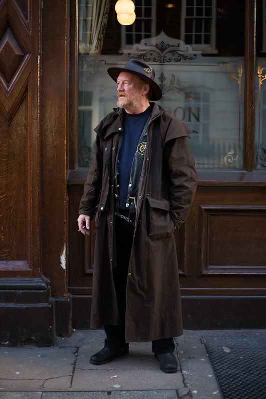 Street Style - Bob, Broadwick Street