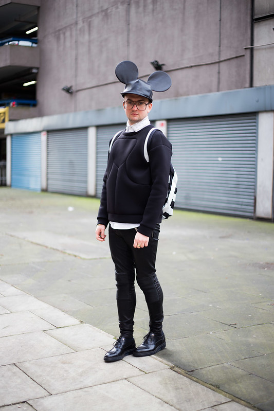 Street Style - James Wolf, London Collections: Men