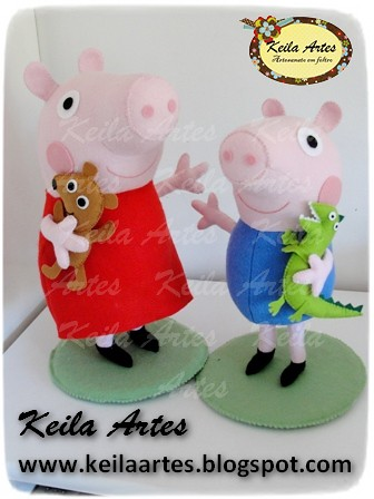PEPPA E GEORGE by KEILARTES