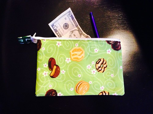 Girl Scout cookie pouch