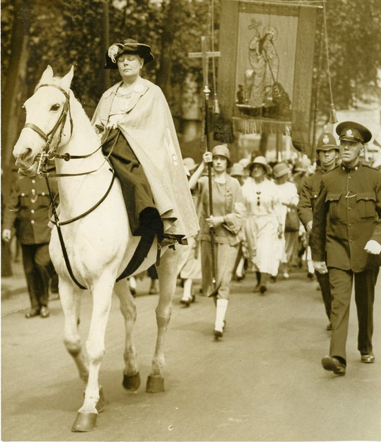 1926 Peace Pilgrimage. Credit: LSE Library