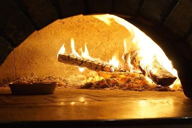 villa danieli - sheraton imperial - wood fire oven