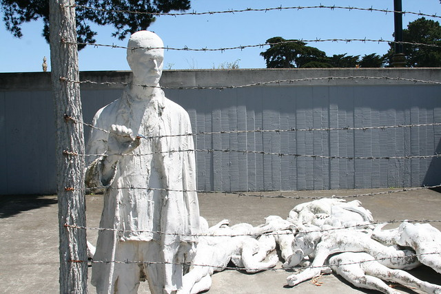 Holocaust Sculpture Art Photo by Sherrie Thai of ShaireProductions.com