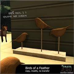 -Hanaya- Birds of a Feather