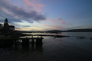 Swanage at dusk 3
