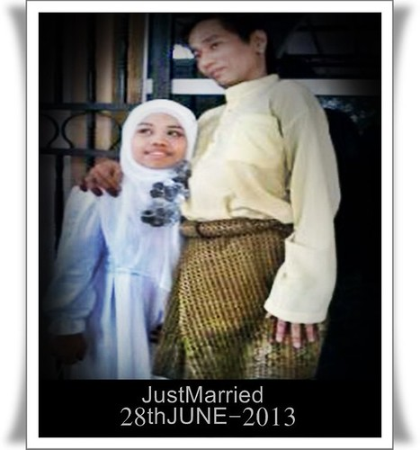 Mengukir indah di waktu nikah ~