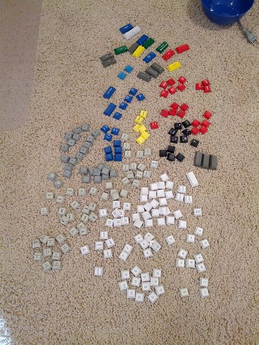 Sorting keycaps