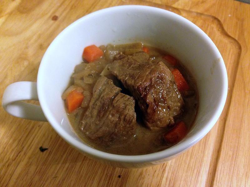 dijon and cognac beef stew | yours, julie