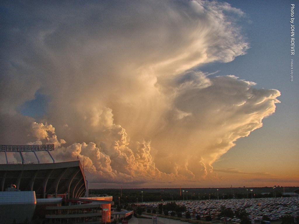 Kansascity Missouri Usa July 2016 July2016 Weather Storm Storms Cloud Stormcloud Stormclouds Thunderstorm Thunderstorms
