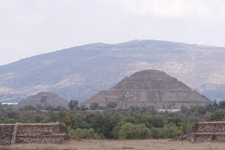 Bild von Teotihuacán. méxico teotihuacan