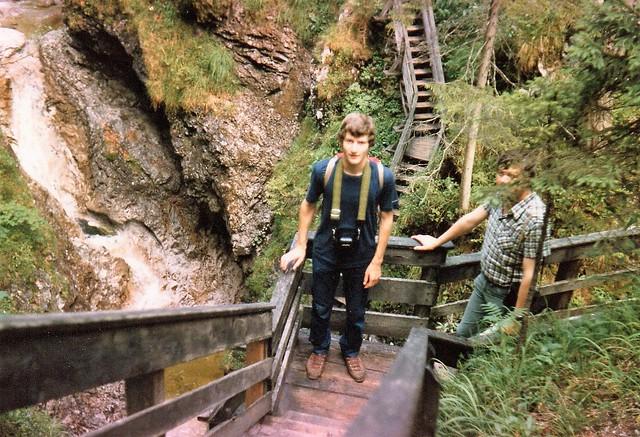 1981 Italy // in den Dolomiten // Thorsten und Klaus