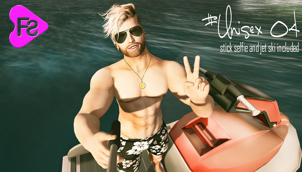 GIFT GROUP [Frimon Store] #Unisex 04 (Stick Selfie + Jet Skin included) - SecondLifeHub.com