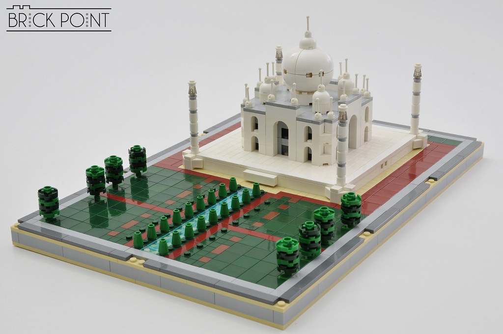 Taj Mahal (custom built Lego model)