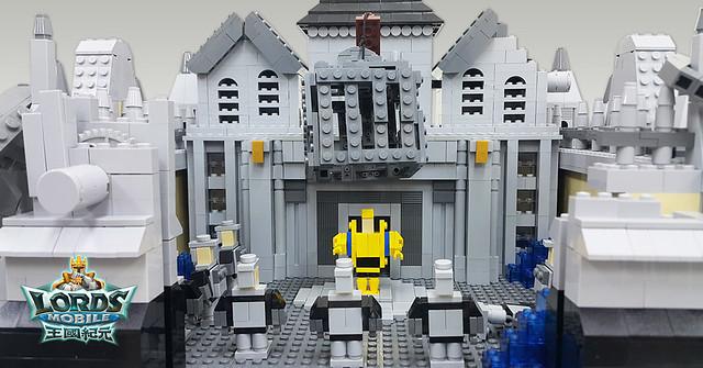 台灣年輕樂高冠軍挑戰自我  12萬顆元件打造《王國紀元》超大「變型城堡」