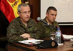 Presentación de la aportación del Ejército de Tierra a la misión en Letonia 'Enhanced Forward Presence'