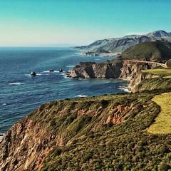 #bixbybridge #bixby #california #cali #pacific #pacificocean #beautiful #mountains #bridge #engineering #sea #ocean #socal #beautiful #beach #sunset #waves #majestic #godisgood #godisgreat #garrapata #hdr #hdrphotography  #twilight
