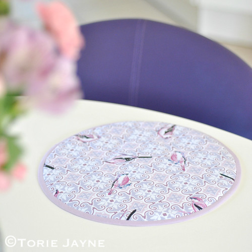 Handmade table mats tutorial 5