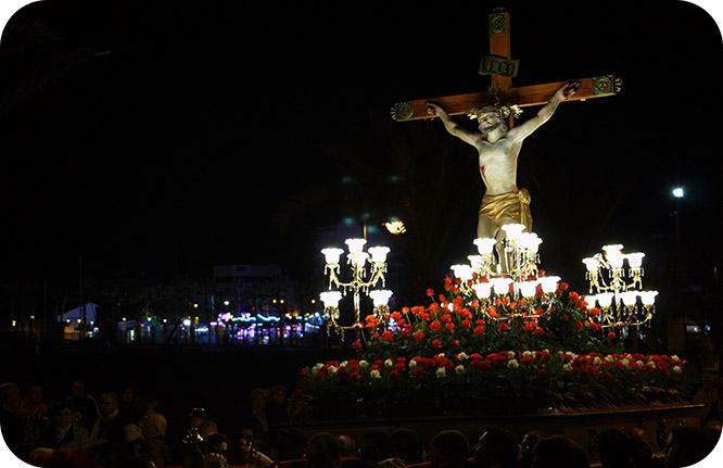 Via Crucis a orillas del Mar Menor