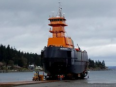 ATB tugboat Abundance ready for launch