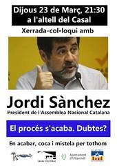 Cartell Jordi Sànchez