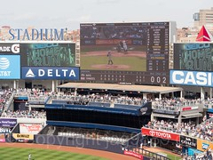 Home Run, Yankees Game at Yankee Stadium, The Bronx, New York City