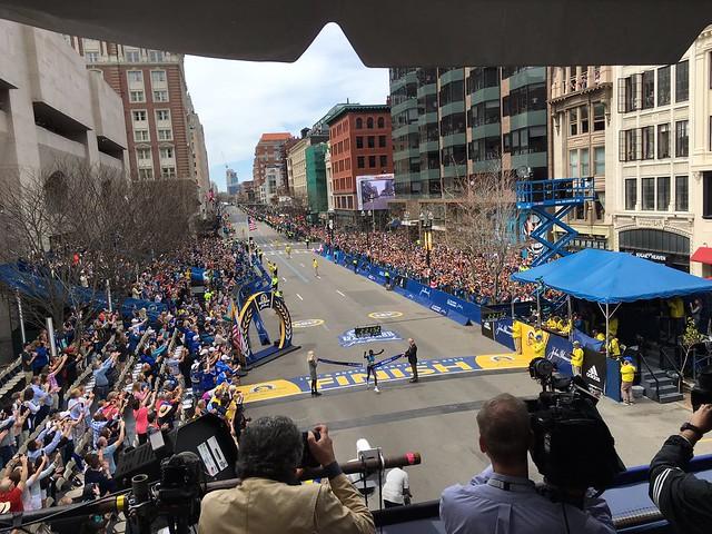 Kiplagat en Boston