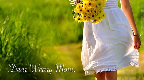 Dear Weary Mom Link-Up | Thursdays at www.hopeforthewearymom.com