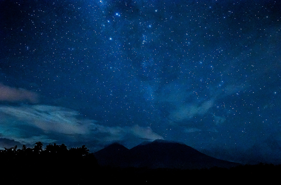 The Milky Way over Mt. Banahaw