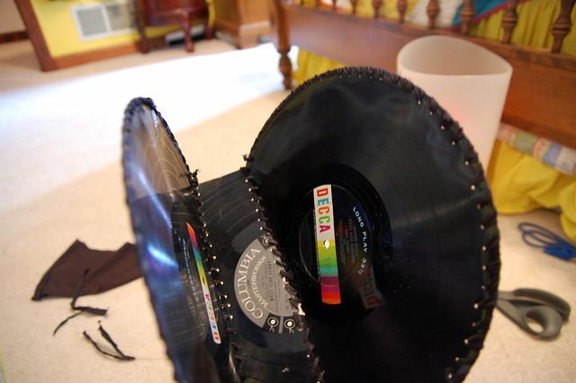 Vinyl Record Purse Stars For Streetlights