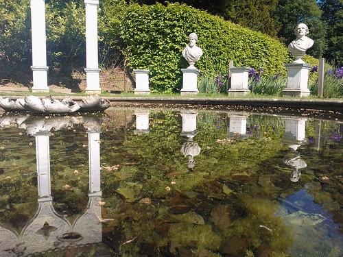 The Exedra at Painswick Rococo Garden
