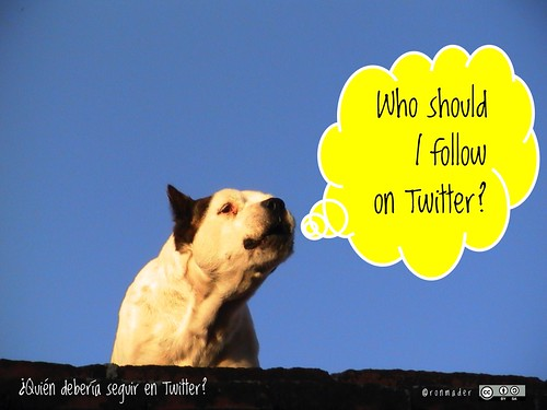Who should I follow on Twitter? = ¿Quién debería seguir en Twitter? #roofdog
