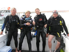 diving equipment, dry suit, person, team,