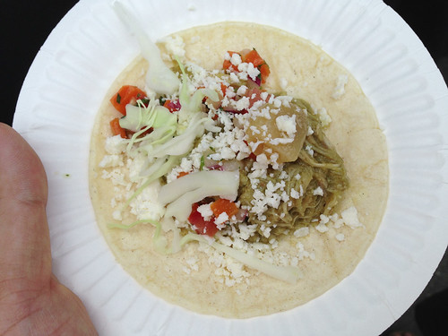 Bistro LQ: Rabbit Green Mole Taco