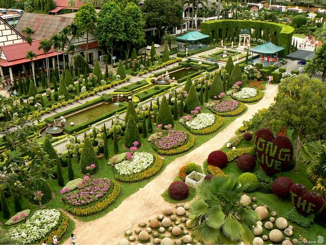 El Jardín Suan Nong Nooch - Tailandia