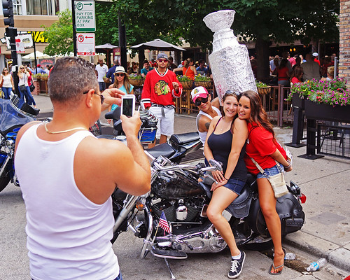 Faux Stanley Cup + Motorcycle #2