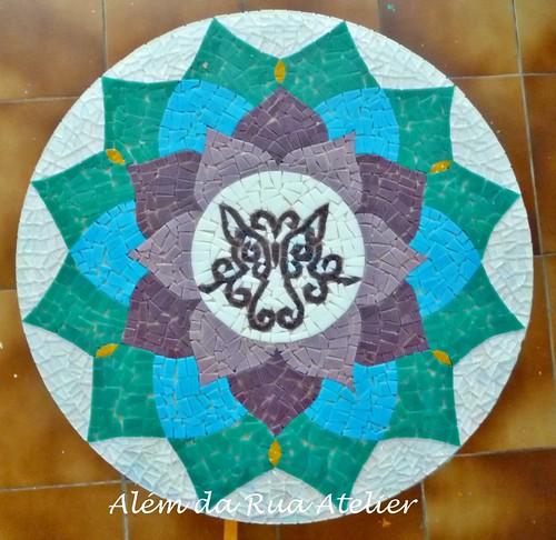 Mandala de mosaico