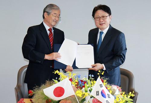 LG전자와 일본 국립연구기관 소재분야 공동 연구 협력의 현장
