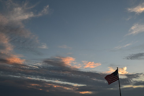 sky clouds america sunrise flag july4th independenceday