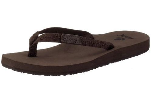 Reef Ginger flip flops brown