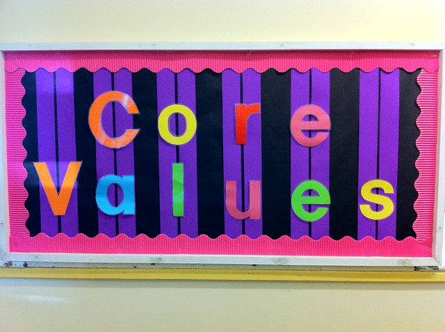 Core values from Flickr via Wylio