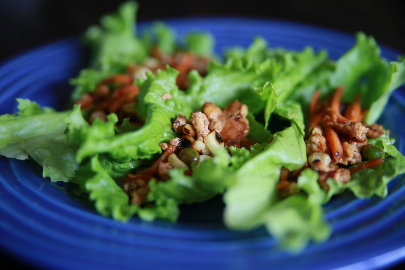 Vegetarian Lettuce Wraps Recipe — Dishmaps