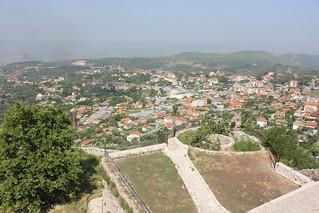 Image of Krujë Castle. castle albania kruje